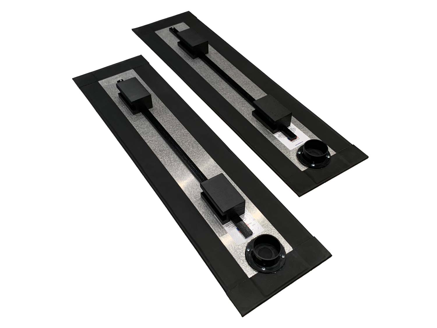 Airsled Spacer kit air beams with spacers added