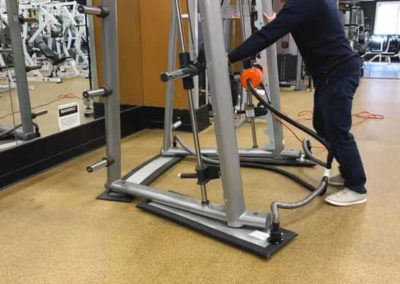 3-in-1 system used for commercial fitness equipment