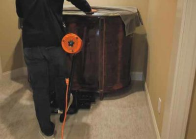 Moving appliances and other objects over carpeting