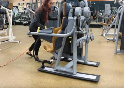 Moving fitness equipment made easy with Airsled