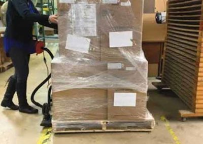 Pallet solution using Airsled technology