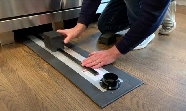 Airsled's Spacer Kit for Appliances on Legs
