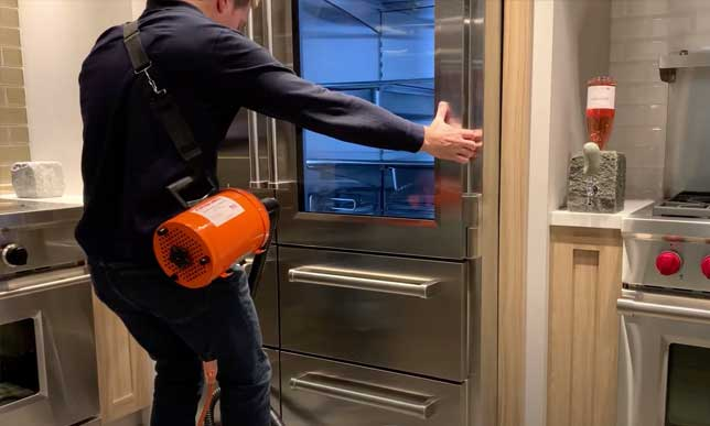 How to Move a Sub-Zero Fridge with an Airsled and Spacer Kit