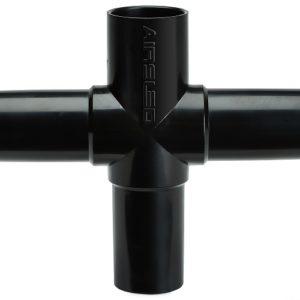 Standard black T connector