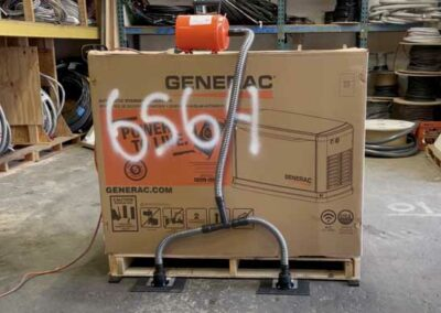 How to Move a Generac Generator With an Airsled