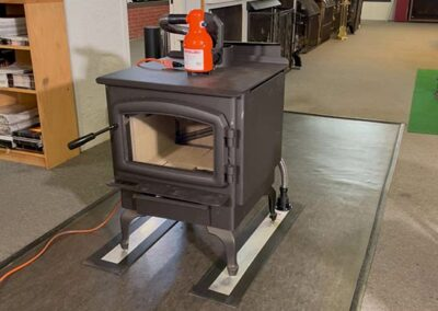 How To Move a Heavy Stove With Airsled
