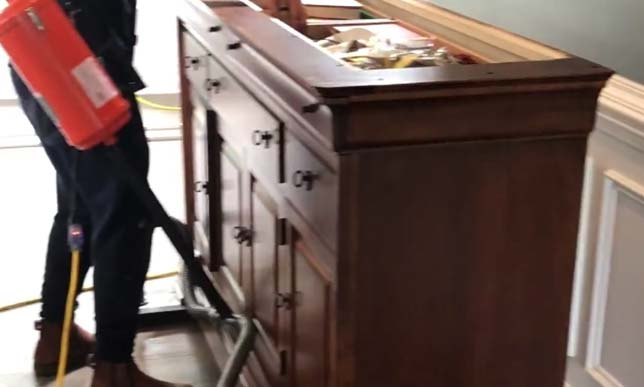 How to Move Heavy Furniture over Wood Flooring with an Airsled